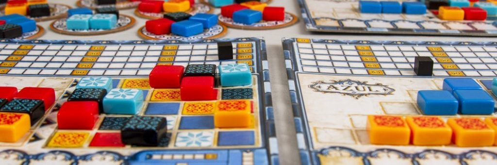How to Play Azul - Game Example