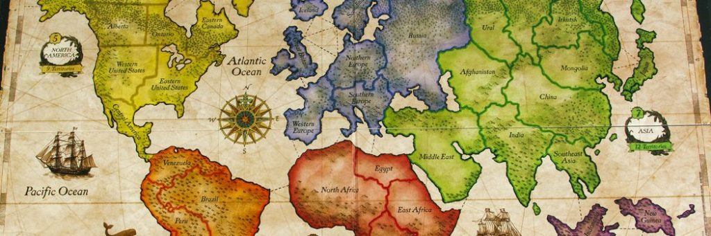 How to Play Risk - Board Overview