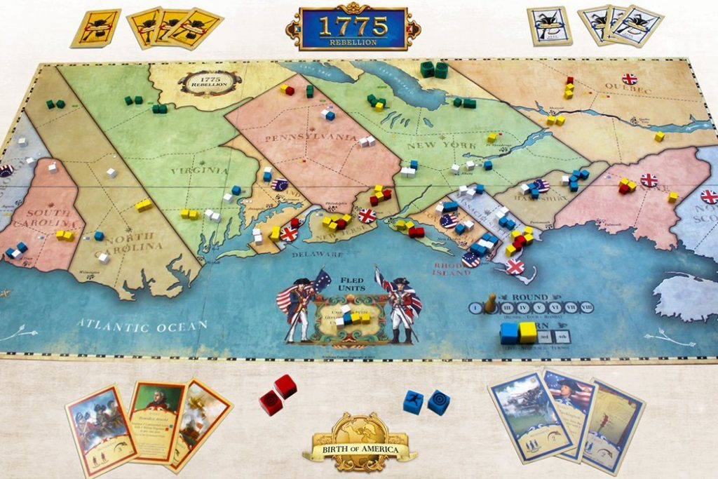 1775: Rebellion Board Game