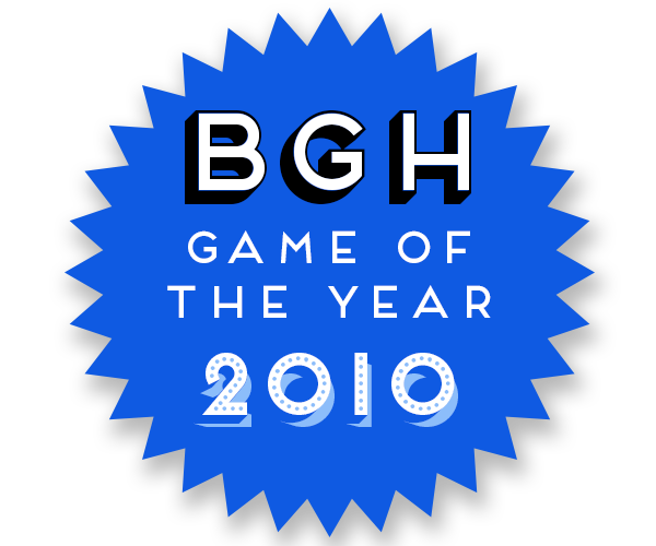 BGH Game of the Year 2010 Badge