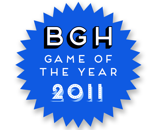BGH Game of the Year 2011 Badge