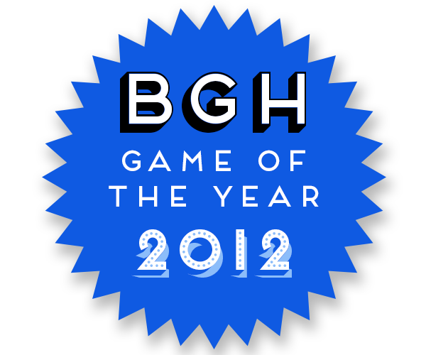 BGH Game of the Year 2012 Badge