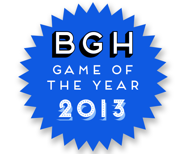 BGH Game of the Year 2013 Badge