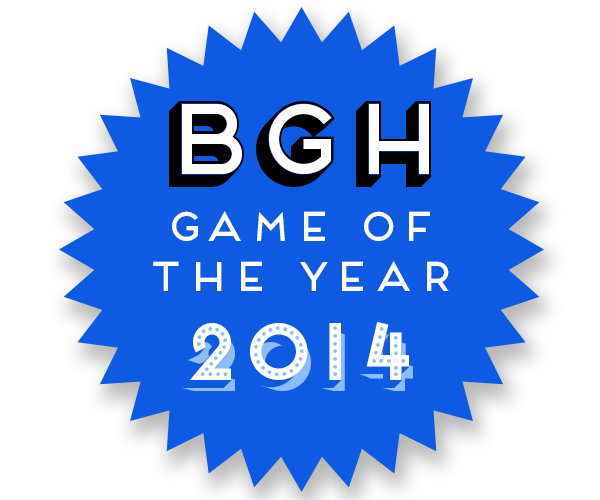 BGH Game of the Year 2014 Badge