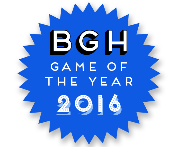 BGH Game of the Year 2016 Badge