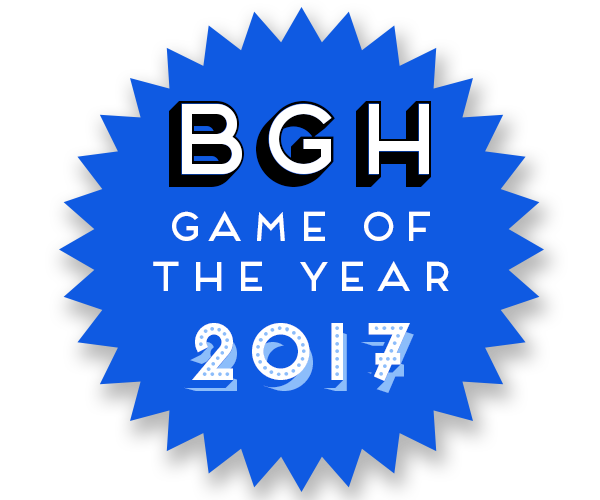 BGH Game of the Year 2017 Badge