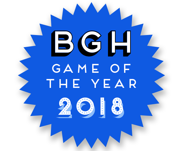 BGH Game of the Year 2018 Badge