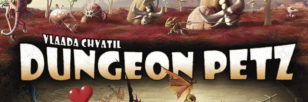 Best Board Games of 2011 - Dungeon Petz