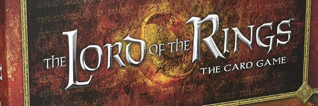 Best Board Games of 2011 - Lord Of The Rings Card Game