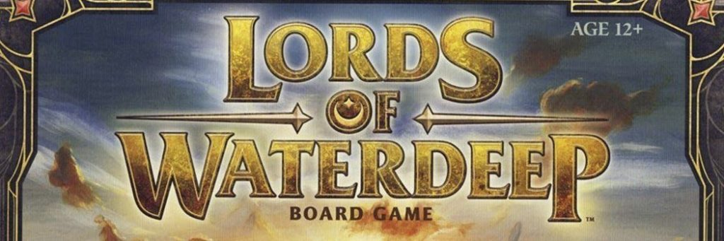 Best Board Games of 2012 - Lords of Waterdeep