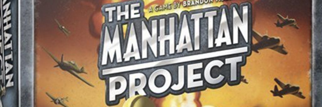 Best Board Games of 2012 - Manhattan Project