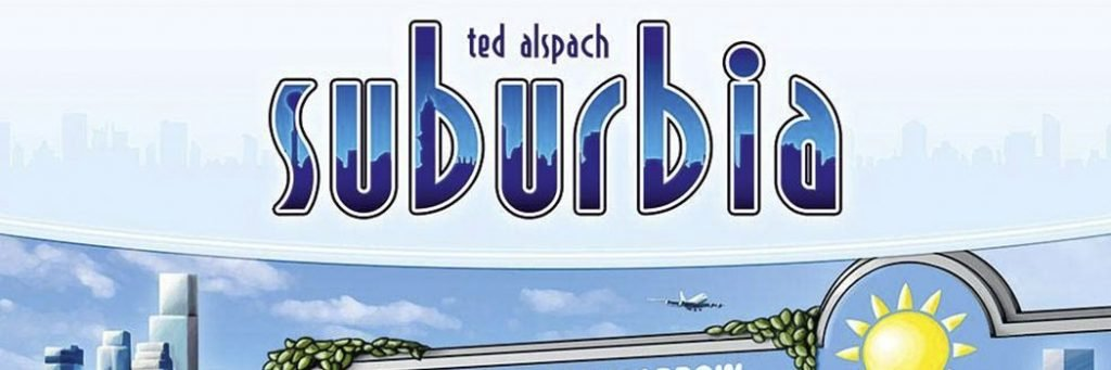 Best Board Games of 2012 - Suburbia