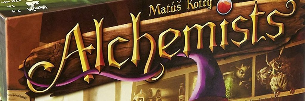 Best Board Games of 2014 - Alchemists