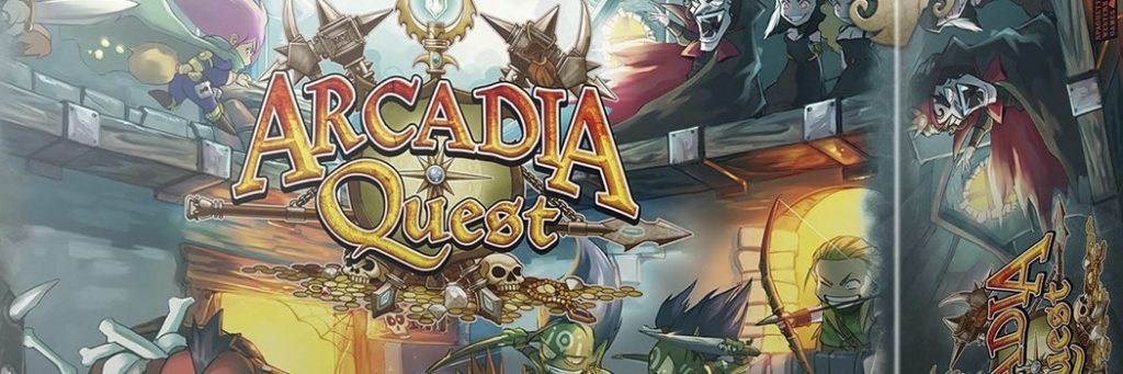 Best Board Games of 2014 - Arcadia Quest