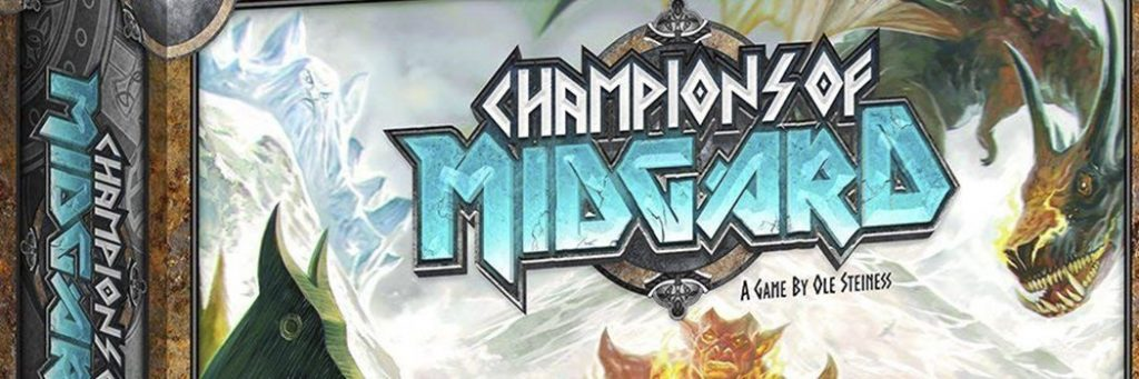 Best Board Games of 2015 - Champions Of Midgard