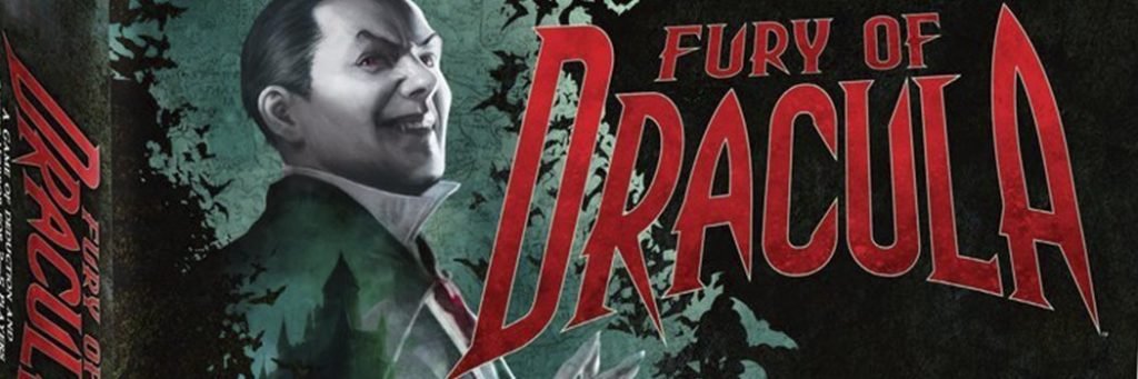 Best Board Games of 2015 - Fury Of Dracula