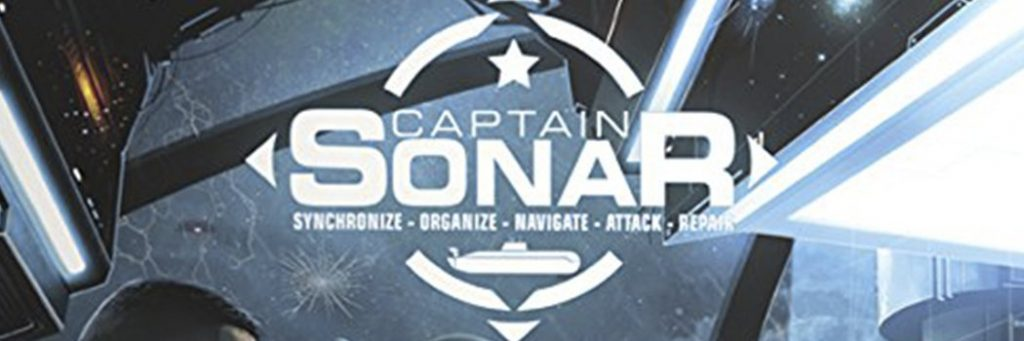 Best Board Games of 2016 - Captain Sonar