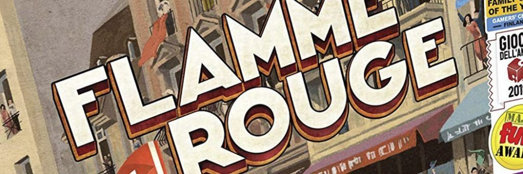 Best Board Games of 2016 - Flamme Rouge