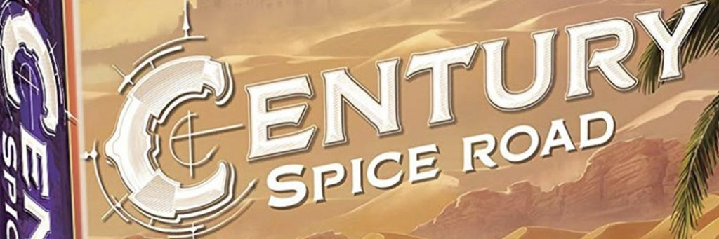 Best Board Games of 2017 - Century Spice Road