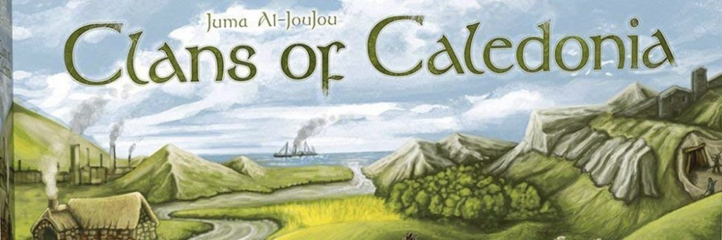 Best Board Games of 2017 - Clans Of Caledonia
