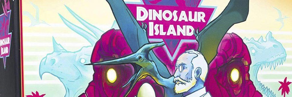 Best Board Games of 2017 - Dinosaur Island