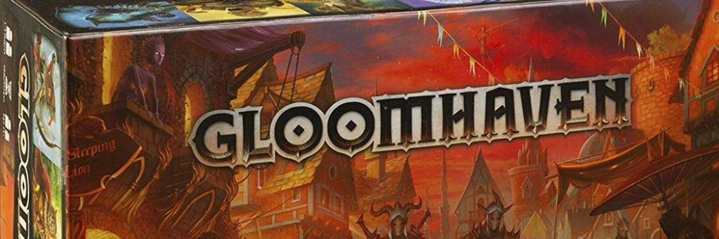 Best Board Games of 2017 - Gloomhaven