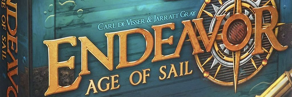 Best Board Games of 2018 - Endeavor Age Of Sail