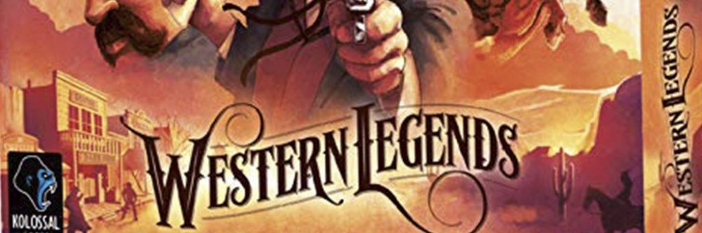 Best Board Games of 2018 - Western Legends