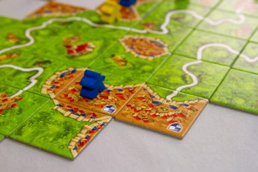 Carcassonne Game Board Edge