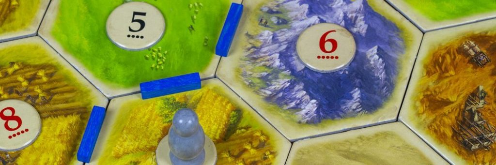 How to Play Settlers of Catan - Board closeup