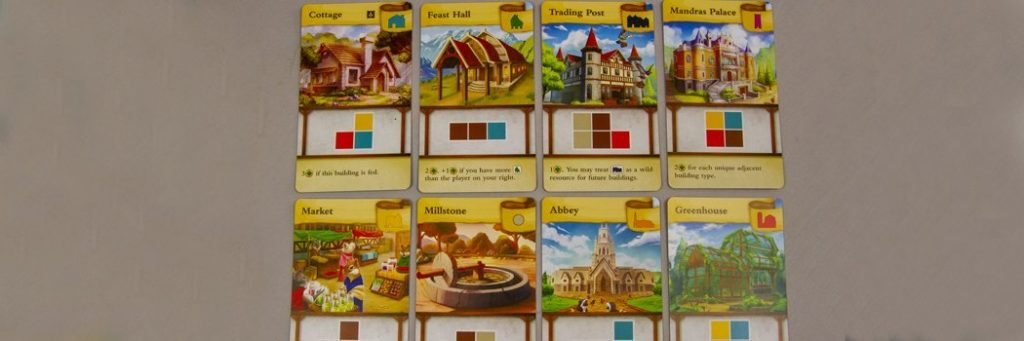 How to Play Tiny Towns - Building Cards