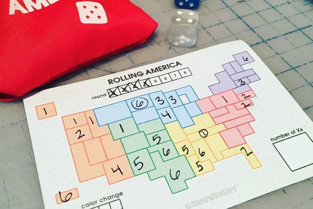 Rolling America Board Game