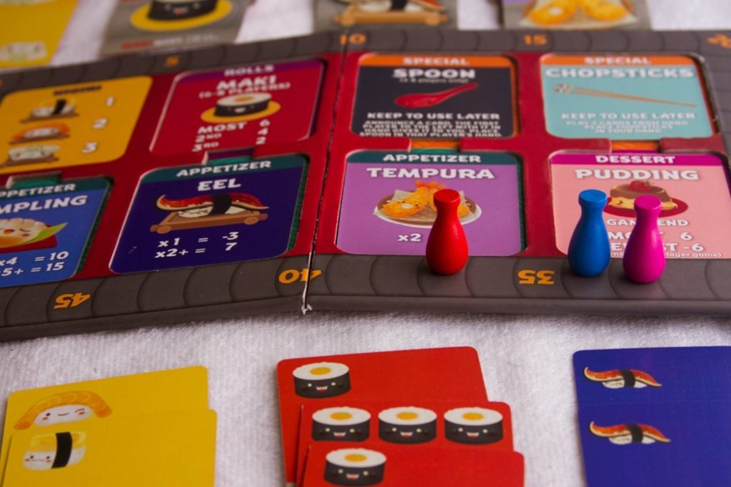 Sushi Go Party Board Game Overview