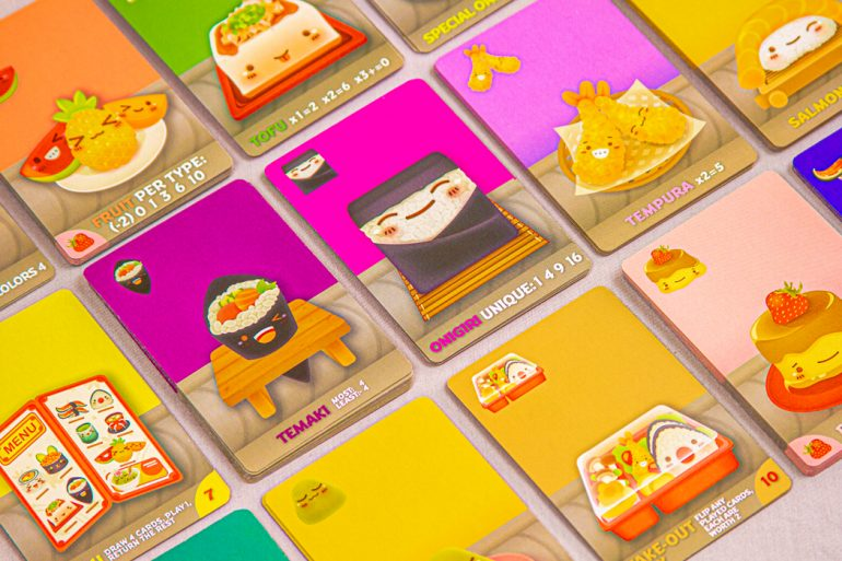 Sushi Go Party! Cards