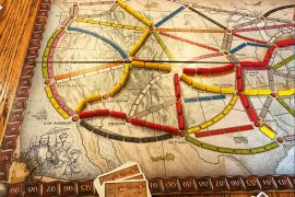 Ticket to Ride Game Board