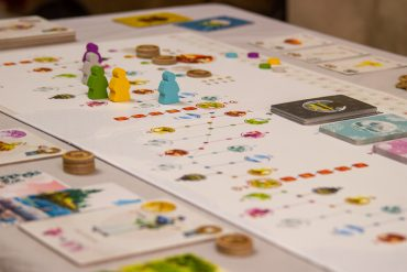 Tokaido Board Overview Side View