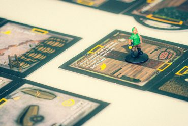 Betrayal At House on the Hill Board Game Character Close