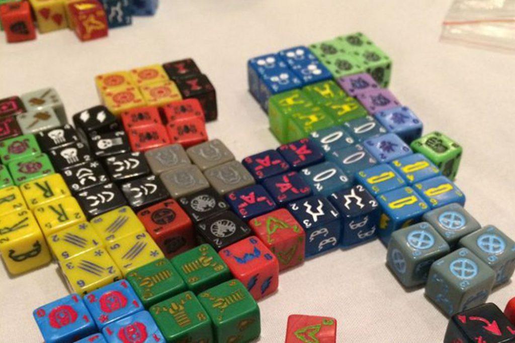 Marvel Dicewars Deck Building Board Game