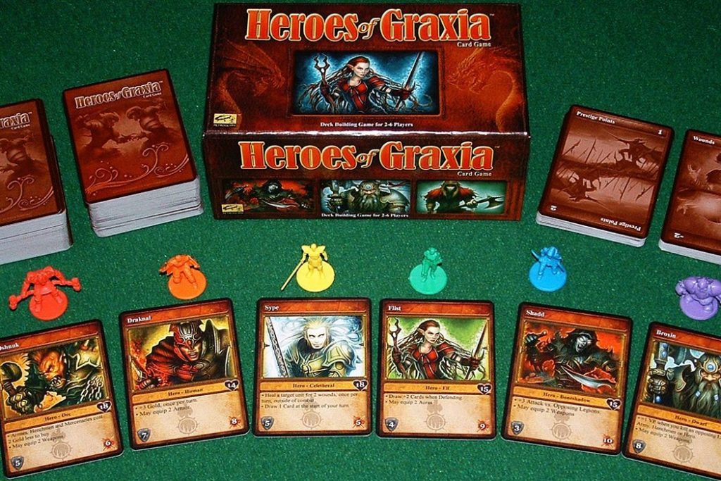 Heroes of Graxia Board Game