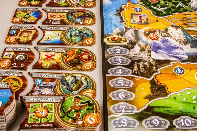 Small World Board Game Race Board