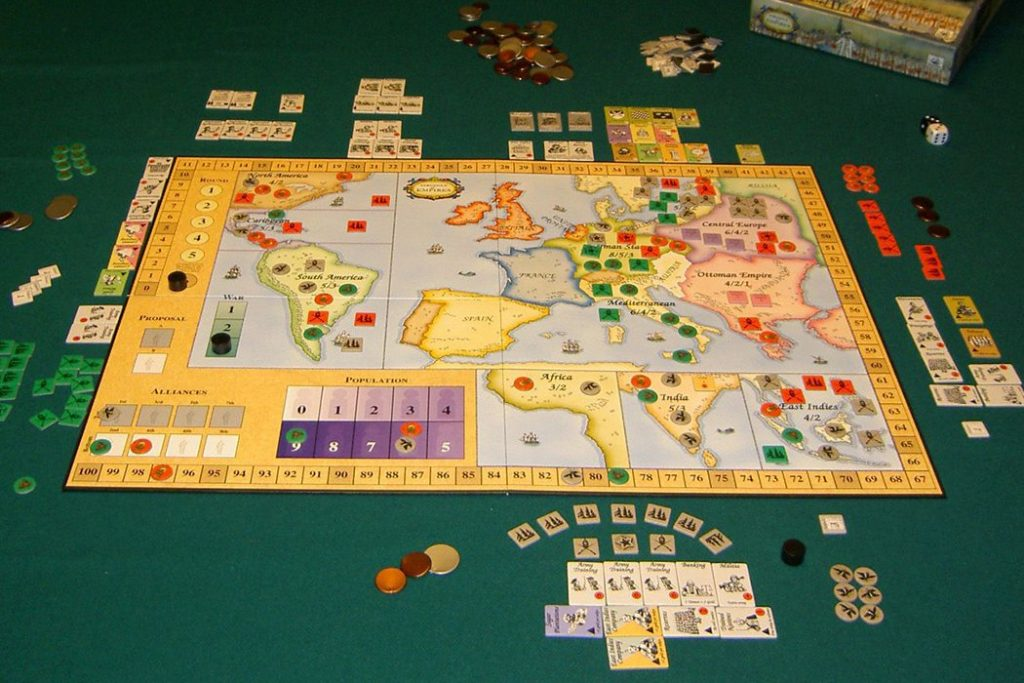 Struggle of Empires Board Game