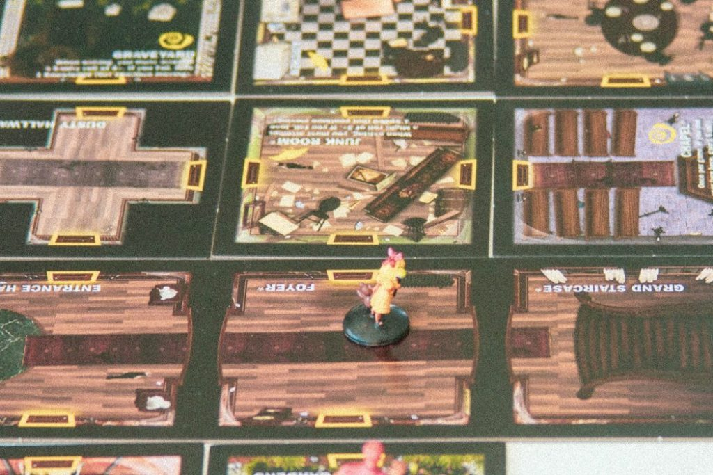 Betrayal at House on the Hill Board Game Room Tiles