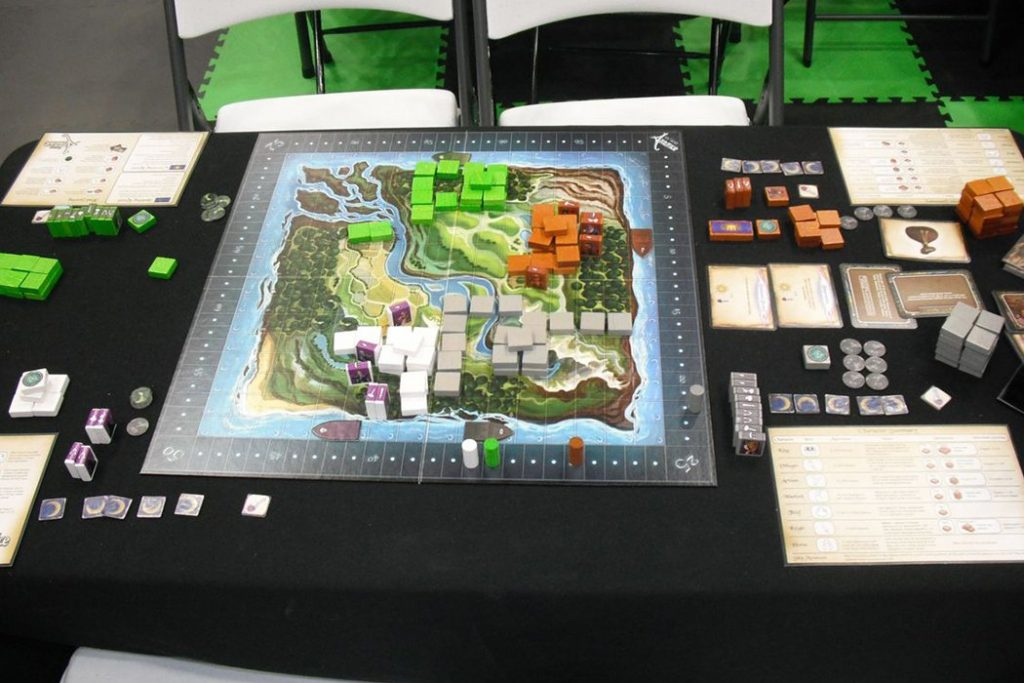 Kings of Artifice Board Game