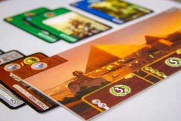 7 Wonders Board Game Pyramid Wonder
