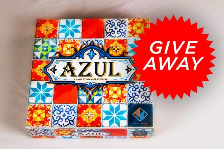 Azul Give Away Game Box