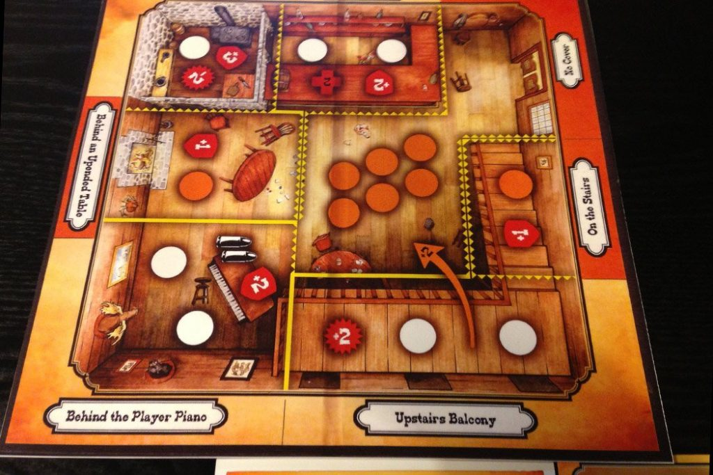 High Noon Board Game