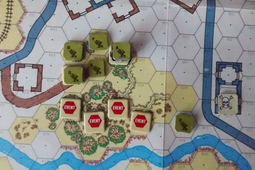 Ambush Board Game