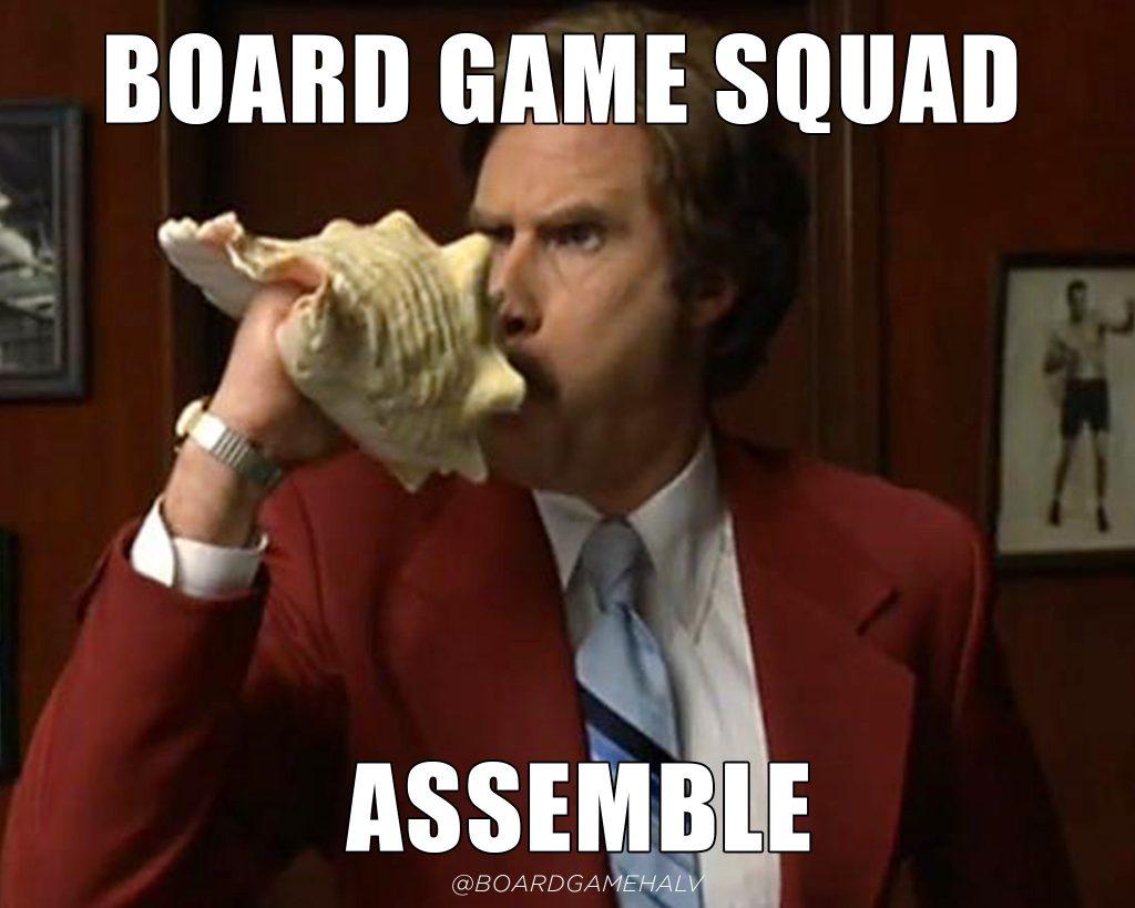 Board Game Memes - Anchorman Assemble