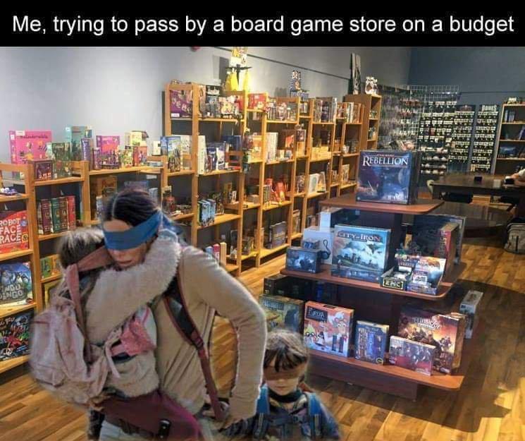 Board Game Memes - Birdbox Store