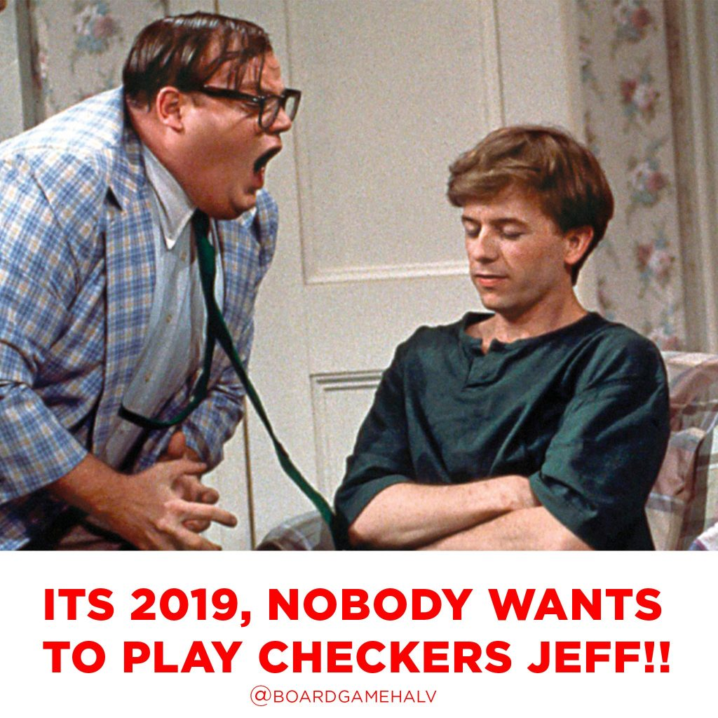 Board Game Memes - Down By The River SNL Checkers